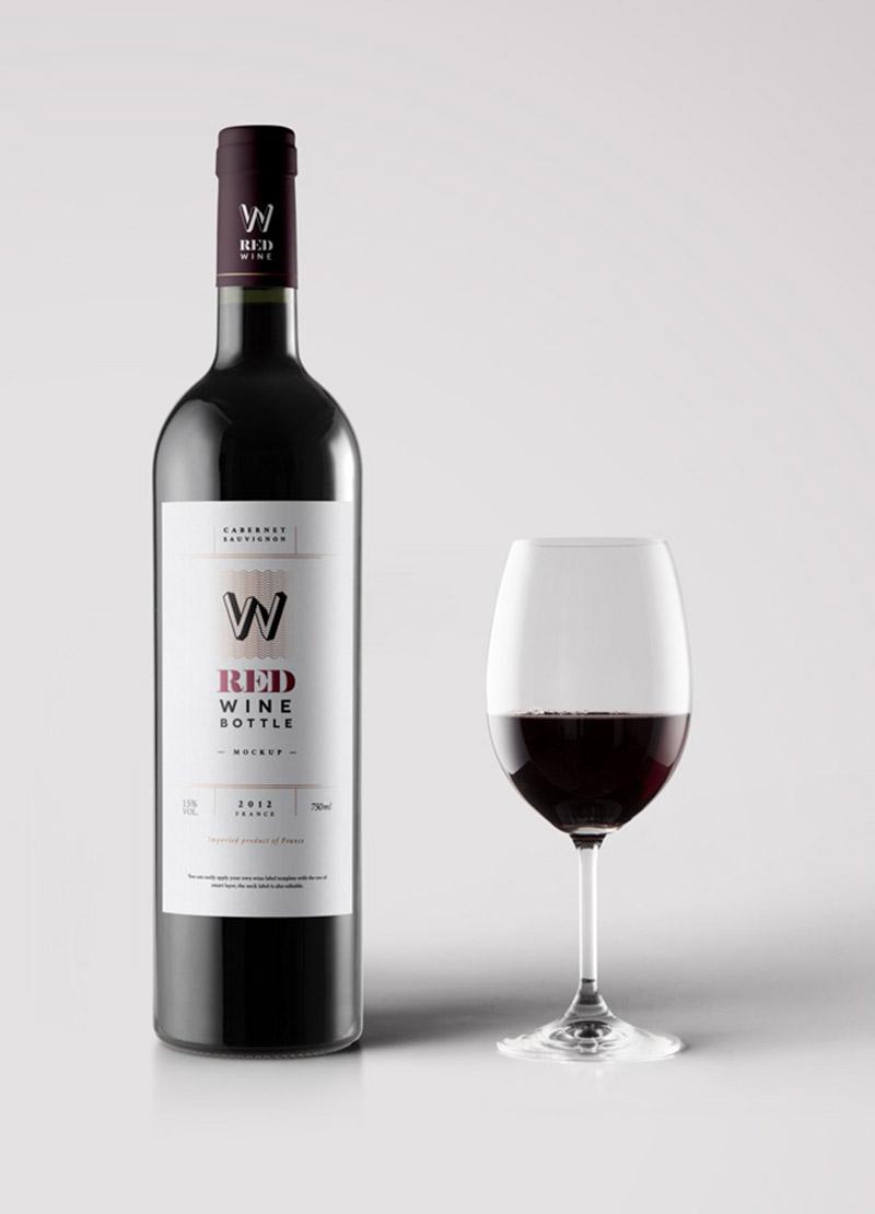 Black Wine Bottle – Alex's Angels